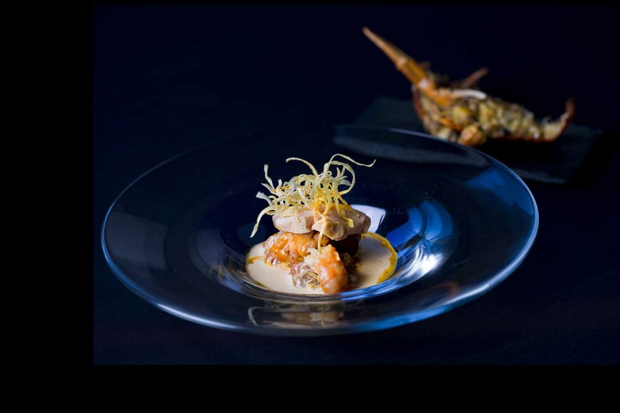 La cuisine de Bernard Bach, chef étoilé au Puits Saint Jacques