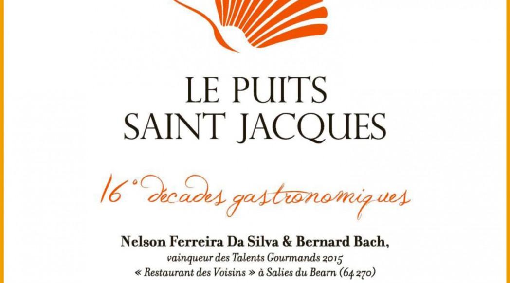 Les Décades Gastronomiques 2015 au Puits Saint Jacques
