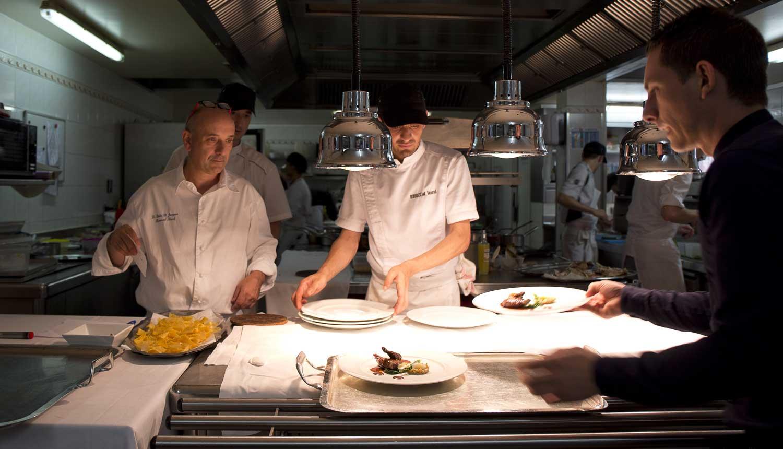 La cuisine du restaurant gastronomique Le Puits Saint Jacques